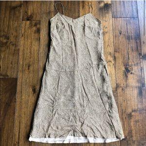 Ann Taylor Thin strap silky dress